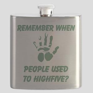 People used to Highfive Flask