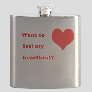 Feel my heartbeat Flask