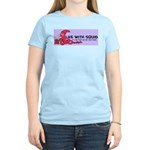 Life with Squid Logo Women's Light T-Shirt