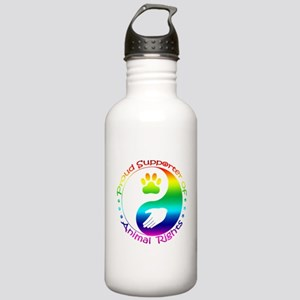 Supporter of Animal Rights Stainless Water Bottle