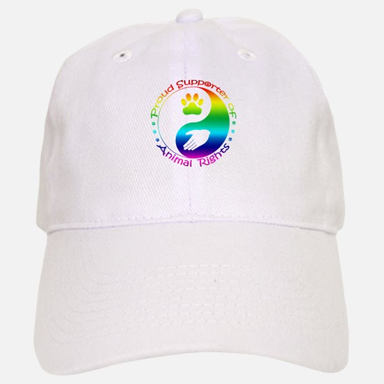 Supporter of Animal Rights Baseball Baseball Cap