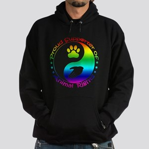 Supporter of Animal Rights Hoodie (dark)