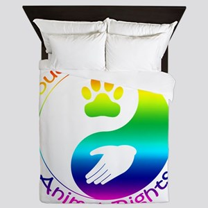 Supporter of Animal Rights Queen Duvet