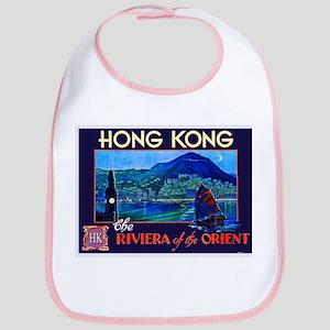 Hong Kong Travel Poster 1 Bib
