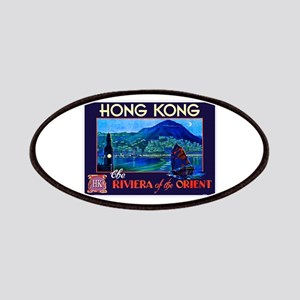 Hong Kong Travel Poster 1 Patches