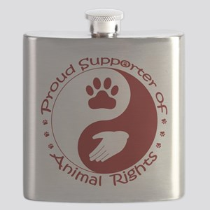 Supporter of Animal Rights Flask