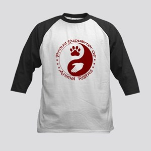 Supporter of Animal Rights Kids Baseball Jersey