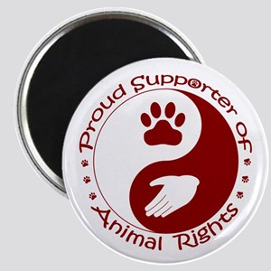 Supporter of Animal Rights Magnet