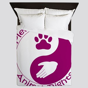 Please Support Animal Rights Queen Duvet