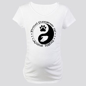 Supporter of Animal Rights Maternity T-Shirt
