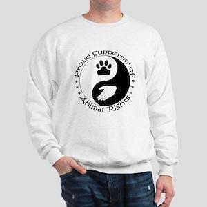 Supporter of Animal Rights Sweatshirt