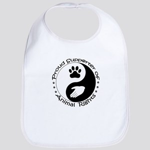Supporter of Animal Rights Bib