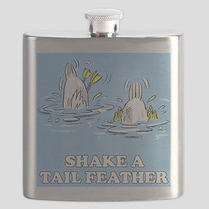 FIN-shake-tailfeather Flask