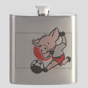 japan-soccer-pig Flask