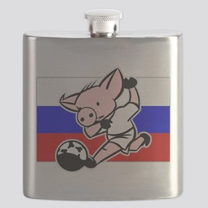 russia-soccer-pig Flask