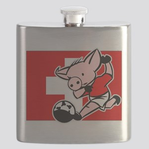 switzerland-soccer-pig Flask