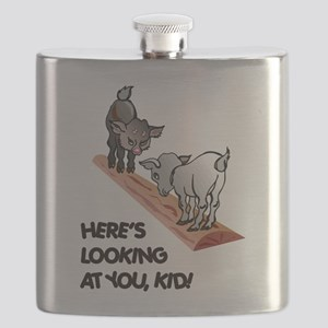FIN-goats-you-kid Flask