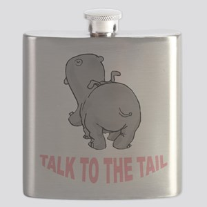 Hippo Talk To The Tail Flask