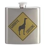 crossing-sign-giraffe Flask