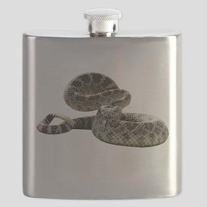 FIN-rattlesnake Flask