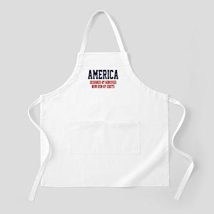 AMERICA: Geniuses - Idiots Apron