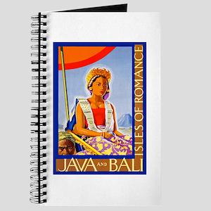 Java Travel Poster 2 Journal