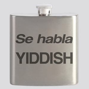 Se Habla Yiddish Flask