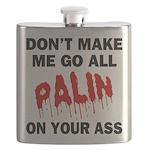 FIN-palin-on-your-ass Flask