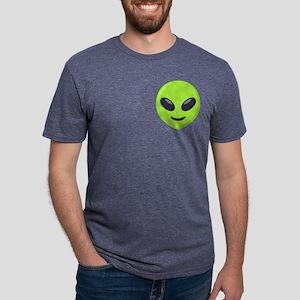 Alien Pocket Mens Tri-blend T-Shirt