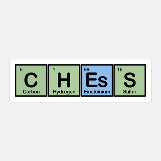 Chess Made of Elements Wall Decal