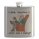 FIN-i drink therefore Flask