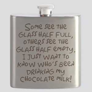 Chocolate Milk Flask