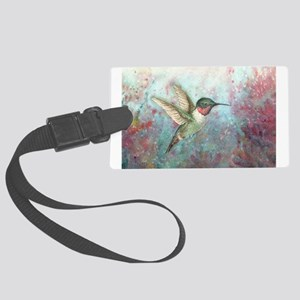 Hummingbird Large Luggage Tag