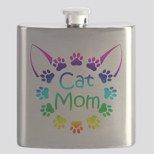 """Cat Mom"" Flask"