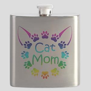 """Cat Mom"" Flask"