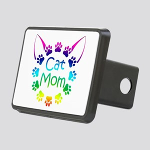 """Cat Mom"" Rectangular Hitch Cover"