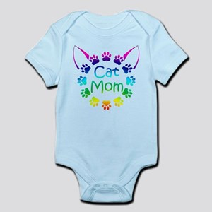 """Cat Mom"" Infant Bodysuit"
