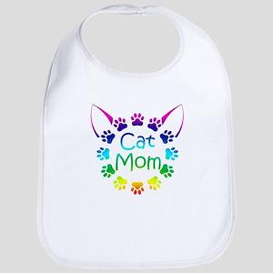"""Cat Mom"" Bib"
