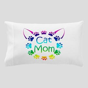 """Cat Mom"" Pillow Case"