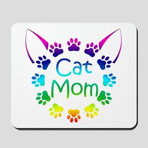 """""""Cat Mom"""" Mousepad"""