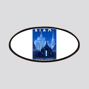 Siam Travel Poster 1 Patches