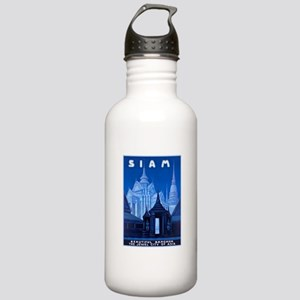 Siam Travel Poster 1 Stainless Water Bottle 1.0L