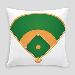 Baseball Play Mat Everyday Pillow