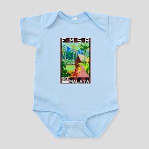 Malaya Travel Poster 1 Infant Bodysuit