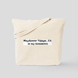 Mayflower Village - hometown Tote Bag
