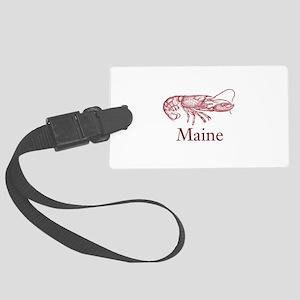 Maine Lobster Large Luggage Tag