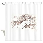 Ophelia Rising Shower Curtain