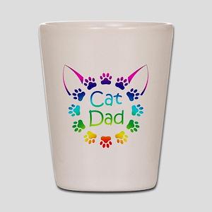 """Cat Dad"" Shot Glass"
