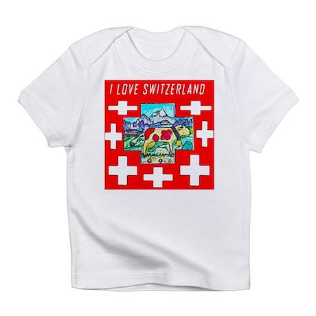 I love Switzerland Infant T-Shirt
