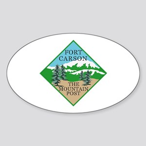 Fort Carson Sticker (Oval)